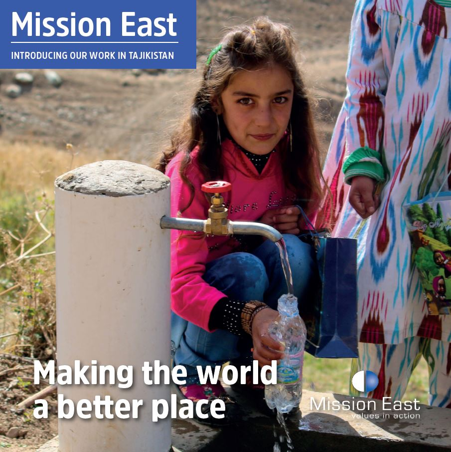 Brochure on Mission East Tajikistan
