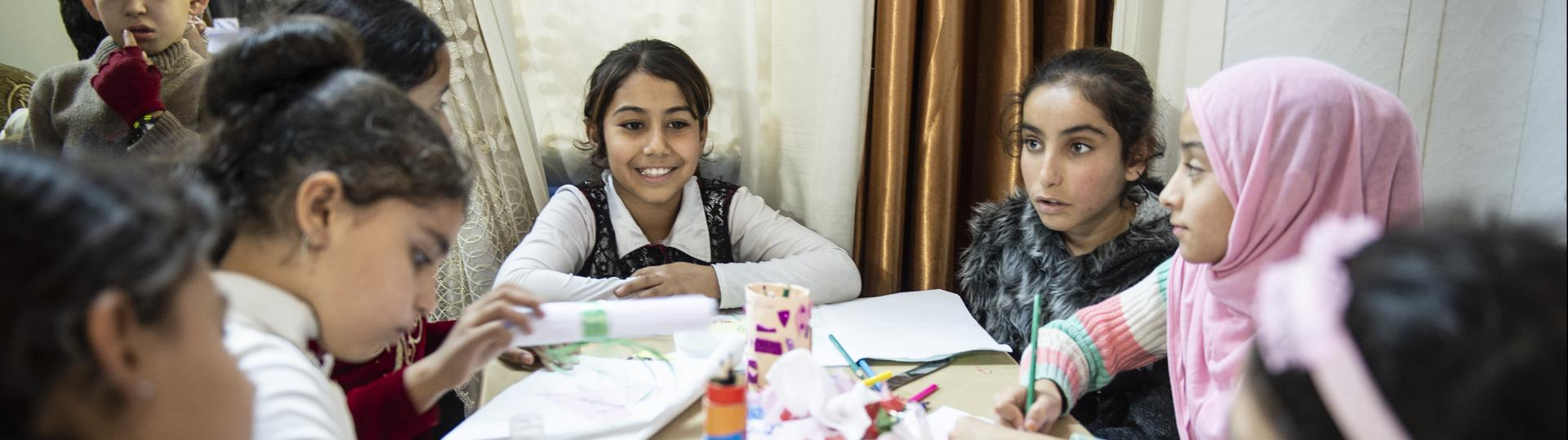 Give a Christmas present to Amira and her friends at the child friendly spaces in war-torn Iraq!