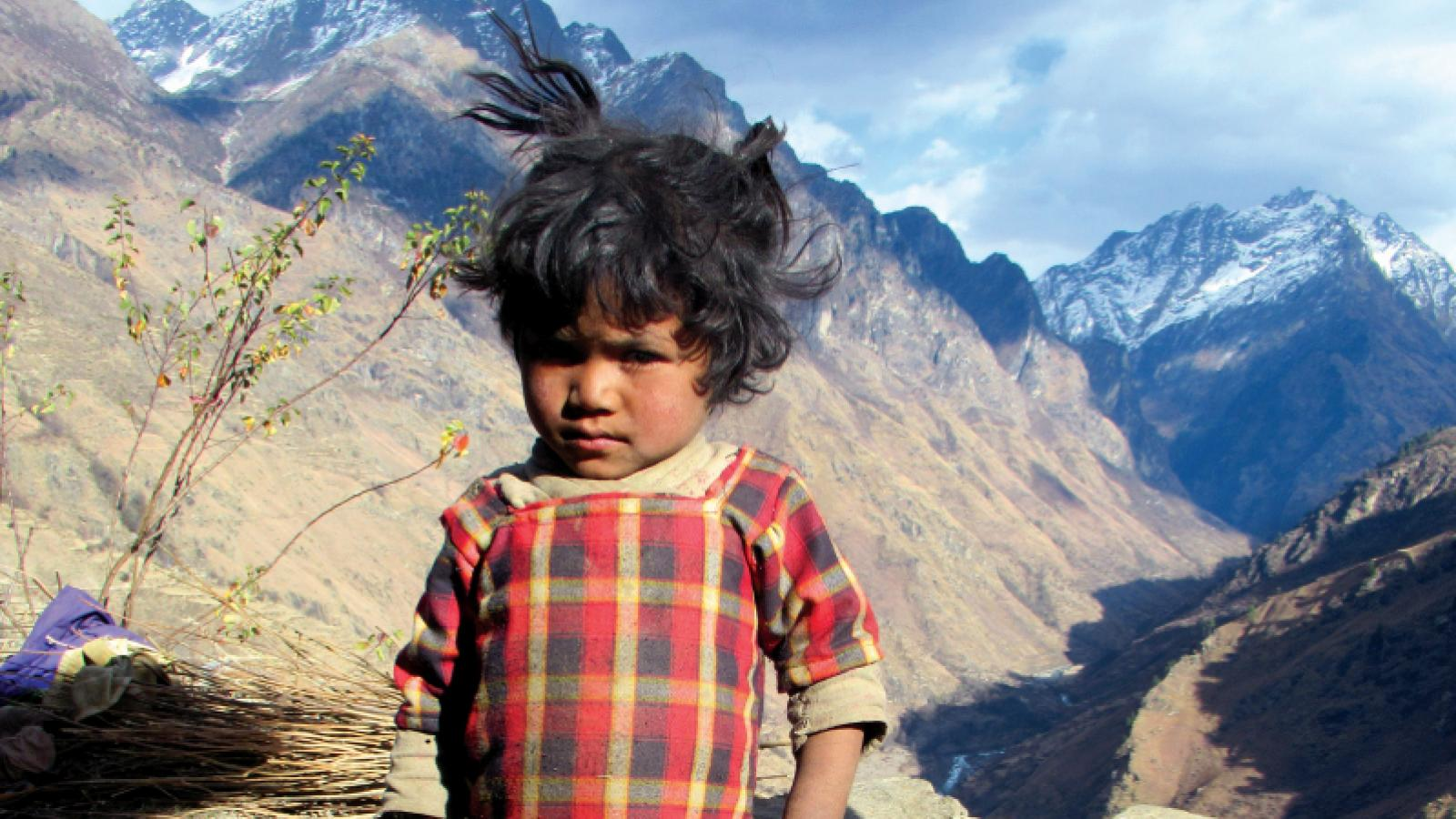 Pabitra's daughter is smaller than average and has cognitive difficulties, most likely because she did not get enough nutrition as a baby. Photo: Foto: Nirmal Bista, HEAD Nepal